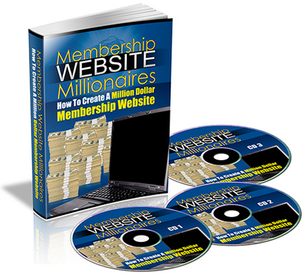 Pay for Membership Website Millionaires eBook & Audio PLR