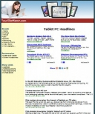 Pay for Tablets Site PHP PLR