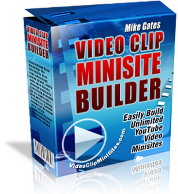 Pay for Video Clip Minisite Builder With Resell Rights
