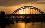 Thumbnail Sunset over the Tyne