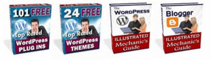 Thumbnail 101 WordPress Plug-ins - 24 WordPress Themes + 2 Bonuses!