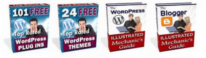 Thumbnail 101 WordPress Plug-ins - 24 WordPress Themes + 2 Bonuses!