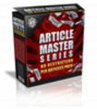 Thumbnail Article Master Series Volume 20 Plr! 200 Articles!