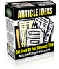 Thumbnail Article Ideas - Mrr