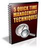 Thumbnail 5 Quick Time Management Techniques