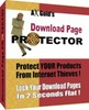 Thumbnail Download Page Protector - Protect Your Products From Internet Thieves! + Resale Rights