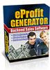 Thumbnail eProfit Generator - Backend Sales Automation Software - Mrr!