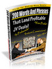 Thumbnail 200 Words And Phrases That Land Profitable JV Deals!
