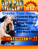 Thumbnail 500 New PLR Articles Pack #12