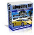 Thumbnail Blogging 101 - Blog To Success