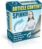 Thumbnail Article Content Spinner - Master resale Rights