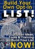 Thumbnail Build Your Own Opt-In List E-Course! - PLR