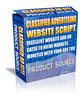 Thumbnail Classified Advertising Website Script(mrr) + Free Stuff  :)