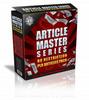 Thumbnail Article Master Series Volume 7 - Plr!