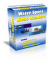 Thumbnail Professionally Designed Water Sports Niche Website Headers