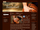 Thumbnail BASKETBALL TEMPLATE for Blogger,Wordpress,and HTML sites