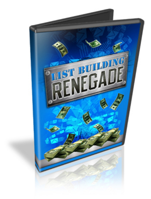 Pay for List Building Renegade Video Tutor - Mrr!