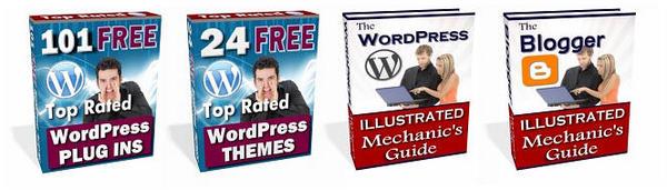 Pay for 101 WordPress Plug-ins - 24 WordPress Themes + 2 Bonuses!