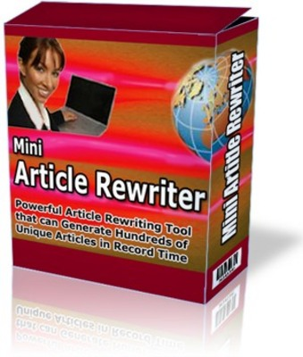 Pay for Mini Article Rewriter Software - Rewrites Articles for You Creating Fresh New Content!