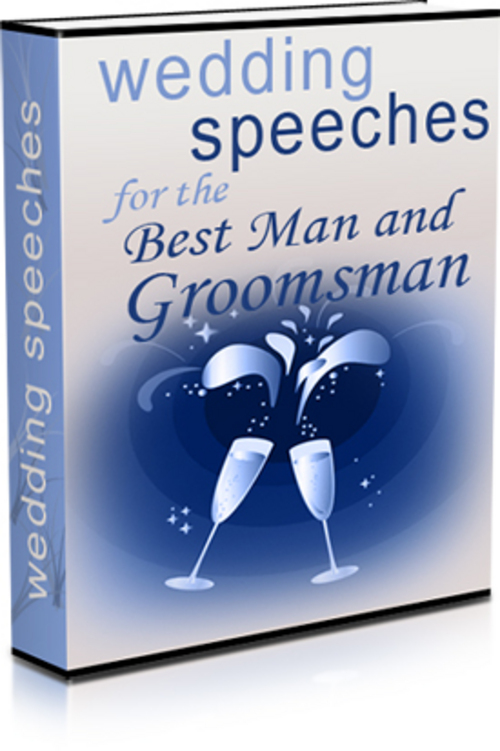 Pay for Wedding Speeches for the Best Man and Groomsman
