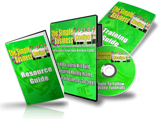 Pay for The Simple Business Recipe Audio & Video Series with Plr!