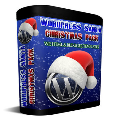 Pay for Wordpress Santa Christmas Pack - WP, HTML & Blogger Template