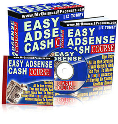 Pay for Easy Adsense Cash Course  (Mrr)