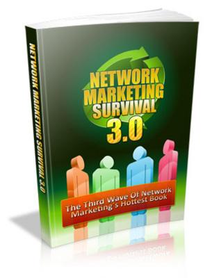 Pay for Network Marketing Survival 3.0 - Plr + 7 PLR Bonuses & More