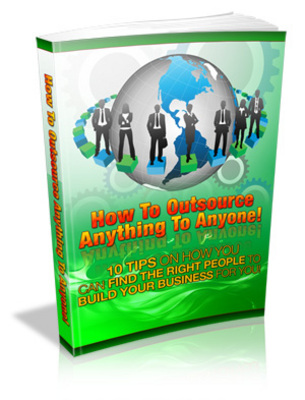 Pay for How To Outsource Anything To Anyone - PLR!