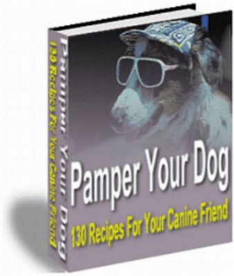 Pay for Pamper Your Dog - 130 Recipes For Your Canine Friend