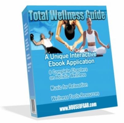 Pay for Total Wellness Guide - Mrr + 5 Bonus eBooks!
