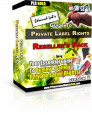 Pay for Edmund Lohs Guide To Private Label Rights v.2 - With FULL MASTER RESALE RIGHTS
