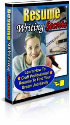 Pay for Resume Writing Secrets - Plr
