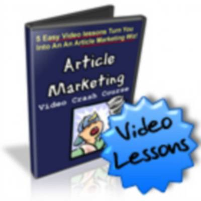 Pay for Article Marketing Video Crash Course - with Mrr!