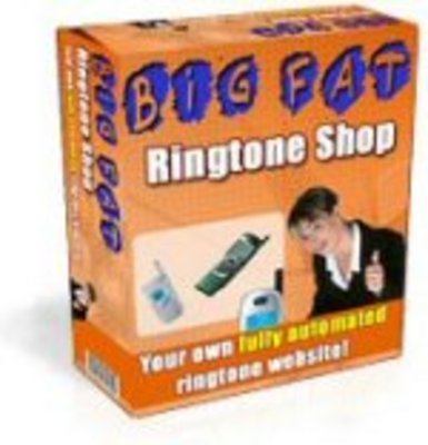 Pay for Your own easy to run Ringtone Website - With Full Resale Rights