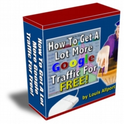 Pay for How To Get Alot More Google Traffic For Free - With Resale Rights