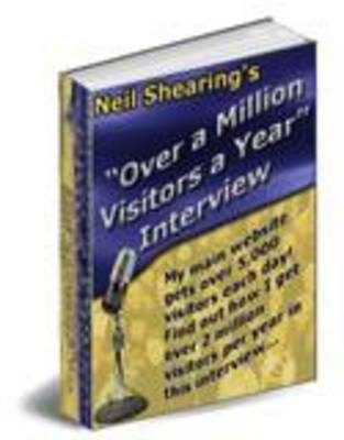 Pay for How To Get At Least One-Million Visitors A Year To Your Website - Mrr
