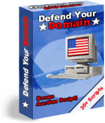 Pay for Defend Your Domain - How To Protect Your Website + Resale Rights + Bonus