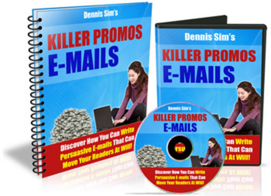 Pay for Killer Promo E-mails - Discover Hou You Can Write Persuasive E-mails That Can Move Your Readers At Will!