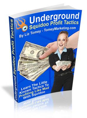 Pay for Underground Squidoo Profit Tactics - MRR
