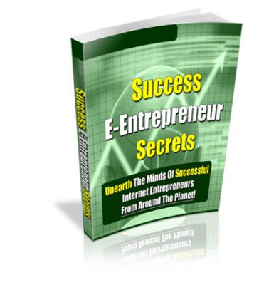 Pay for Successful E-Entrepreneur Secrets