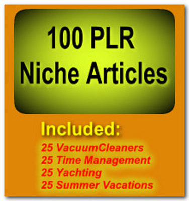 Pay for 100 PLR Niche Articles