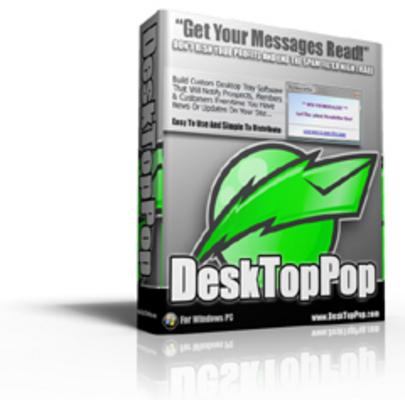 Pay for Desktop Pop - Get Your Messages Read! (MRR)