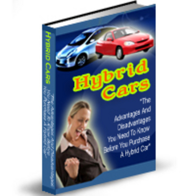 Pay for Hybrid Cars - The Definitive Guide - Plr!