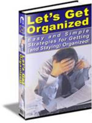 Pay for 101 Ways To Help You Get Organized (PLR)