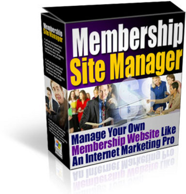 Pay for Membership Site Manager - With Resale Rights