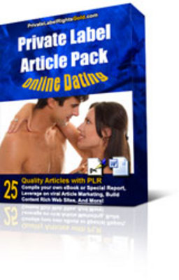 Pay for 25 Online Dating PLR Articles