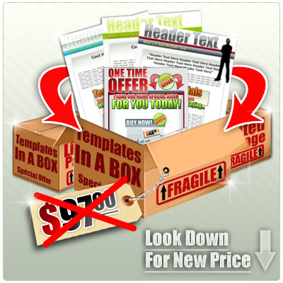 Pay for Templates In A Box 3 Set with Private Label Rights +Bonuses!