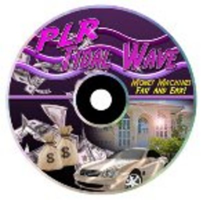 Pay for PLR Tidal Wave: Money Machines - Fast And Easy!