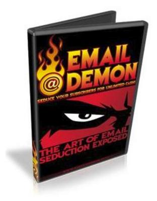 Pay for Email @ Demon - Seduce Your Subscribers For Unlimited Cash